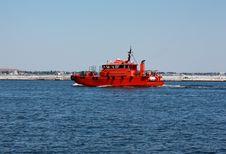 Free Pilot Boat Stock Image - 15737401
