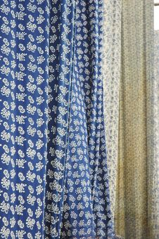 Chinese Traditional Cloth Fabrication Royalty Free Stock Photos