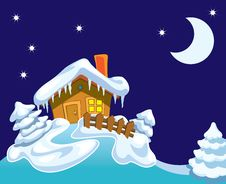 Free Santa S Cottage Stock Photo - 15737980