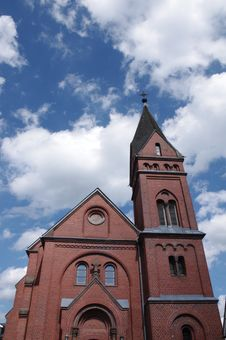 Free Protestant Church Olpe Stock Image - 15738161