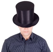 Free Man In Top Hat (cylinder) Stock Photos - 15738783