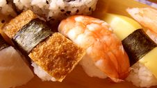 Free Japanese Sushi Royalty Free Stock Photography - 15739037