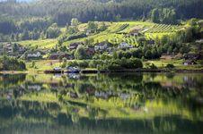 Free Hardangerfjord, Ulvik Stock Photos - 15739143