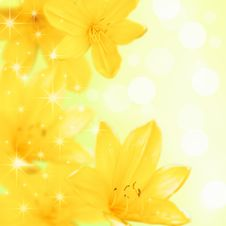 Free Floral Background Royalty Free Stock Image - 15739176