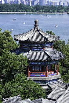 Free Summer Palace In Beijing, China. Royalty Free Stock Photography - 15739237