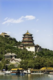 Summer Palace In Beijing, China. Stock Photography