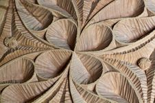 Free Carved Wood Panel Detail Stock Photo - 15739610