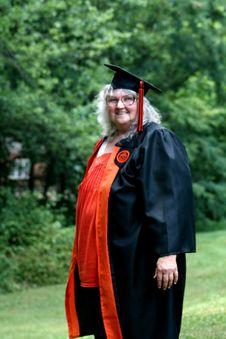 Free Elderly Woman Graduating Royalty Free Stock Images - 15739629