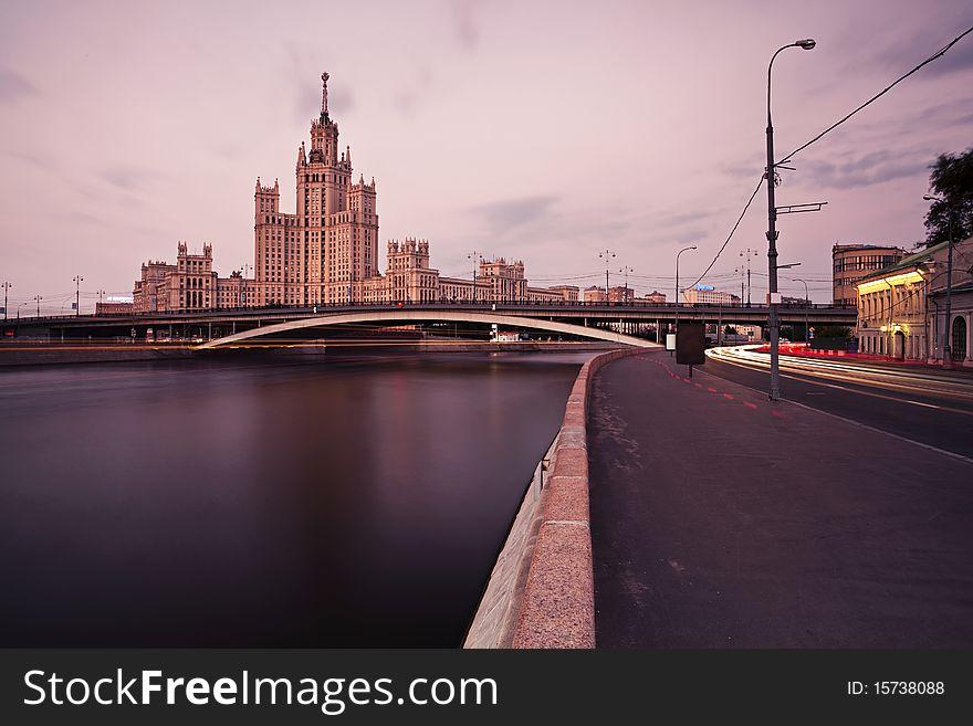 Stalin s skyscraper