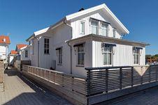 Free Holiday Homes In Malmön S Harbor 4 Stock Photography - 157307892