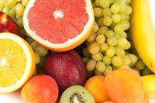 Free Fresh Fruits Royalty Free Stock Photo - 15740455