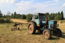 Free Tractor. Stock Photography - 15741152