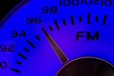 FM Dial Royalty Free Stock Images