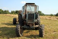 Free Tractor. Royalty Free Stock Photography - 15741357