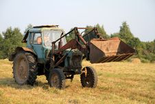 Free Tractor. Stock Images - 15741414