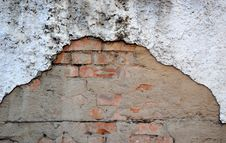 Free Red Aged Brick Wall Stock Photo - 15741590