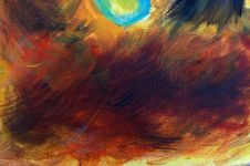 Free Abstract Oil Painting Background Royalty Free Stock Photography - 15741977