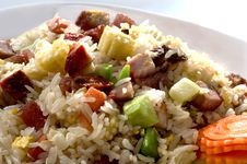 Free Fired Rice Vegetable Stock Photos - 15744223