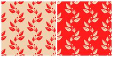 Free Red&Light Brown Pattern Stock Photography - 15744612