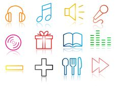 Free Set Of Business Related Vector Icons Stock Photo - 15744760