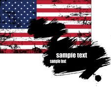 Free U.s.a Flag   Vector Stock Photos - 15744903