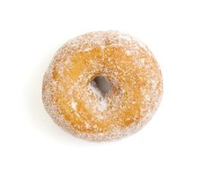 Free Donut On White Royalty Free Stock Image - 15745156