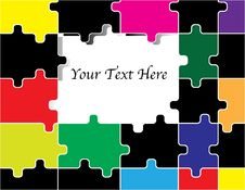 Free Puzzle Presentation Stock Images - 15745194