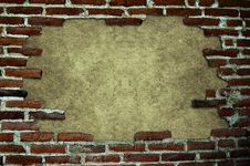 Free Frame With Brick Stock Images - 15746304