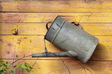 Free Watering Can Royalty Free Stock Photography - 15746457