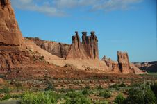 Arches National Park, UT Royalty Free Stock Photo