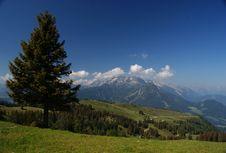 Free Sunny Austiran Alps Royalty Free Stock Image - 15747746