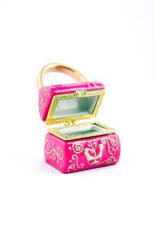 Free Pink Jewelery Box Stock Photography - 15748082