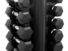 Free Dumbell Rack Royalty Free Stock Photo - 15748875