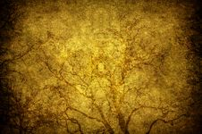 Free Grunge Tree Royalty Free Stock Photography - 15749067