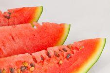 Free Slice Of Watermelon. Royalty Free Stock Photo - 15749255