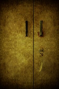 Free Grunge Door Stock Images - 15749414