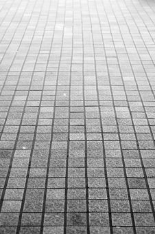 Free Endless Surface With Tiles Stock Photography - 15749452