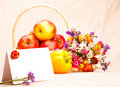 Free Greeting Card And Fruit Stock Photography - 15752842