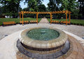 Free Garden With Fountain Stock Images - 15753794