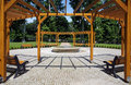 Free Garden With Fountain Royalty Free Stock Photo - 15754155