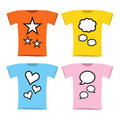 Free Twins Pregnant T-shirt Royalty Free Stock Image - 15757346
