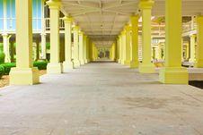Free Basement Of Palace Royalty Free Stock Image - 15750366