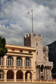 Free Principality Of Monaco Prince S Palace Stock Photography - 15750502