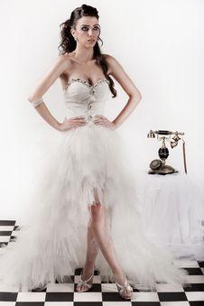 Free Bride Posing Royalty Free Stock Photography - 15752257