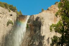 Free Rainbow In A Waterfall Royalty Free Stock Photos - 15752368