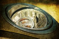 Free Grunge Headlights Stock Image - 15752841