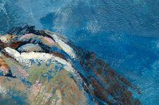 Free Blue Paint Stock Photos - 15753173