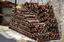Free Pipes Royalty Free Stock Photography - 15753227