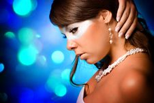 Free Mysterious Girl Royalty Free Stock Photography - 15753357