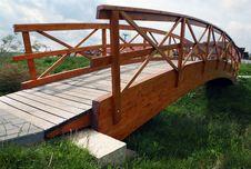 Free Wooden Bridge Royalty Free Stock Photo - 15753535